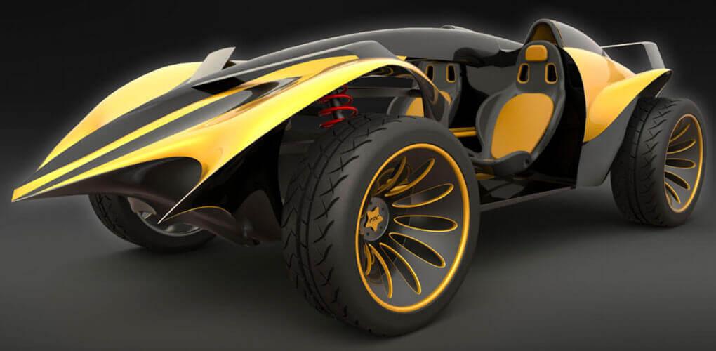Koncepcyjne projektowanie pojazdów w środowisku CAD 3D SOLIDWORKS