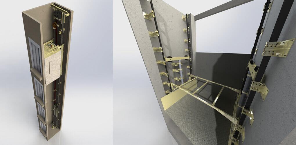 zmiana oprogramowania 2d na oprogramowanie 3d aby projektować lepsze windy