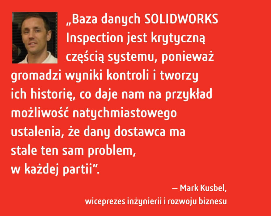 SOLIDWORKS Inspection Case Study