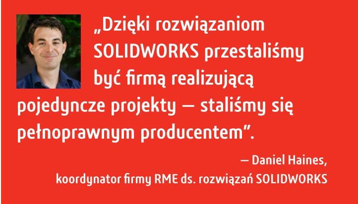 Oprogramowanie dla firm do produkcji - SOLIDWORKS