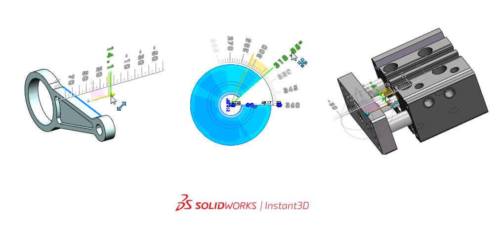 Projektowanie 3D CAD - Funkcjonalność Instant3D SOLIDWORKS