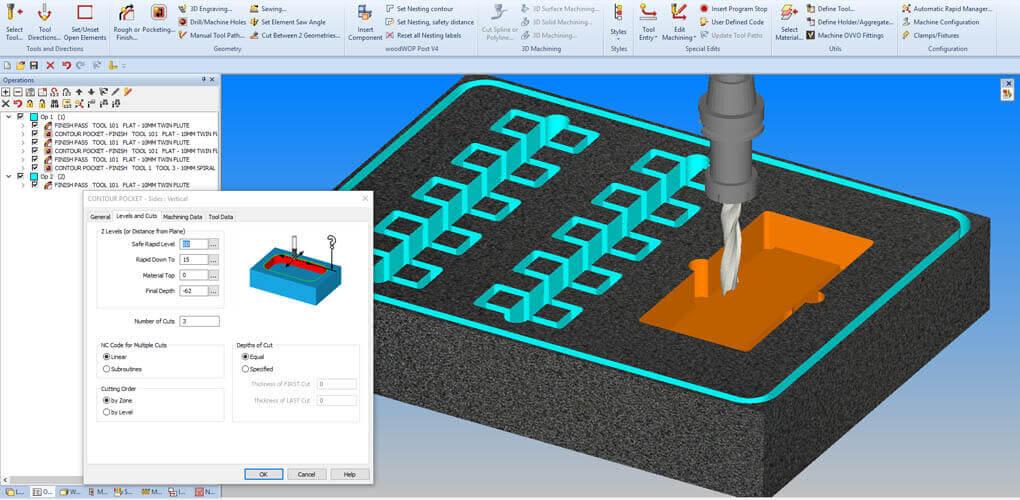 Alphacam oszczędza czas - frezowanie CNC