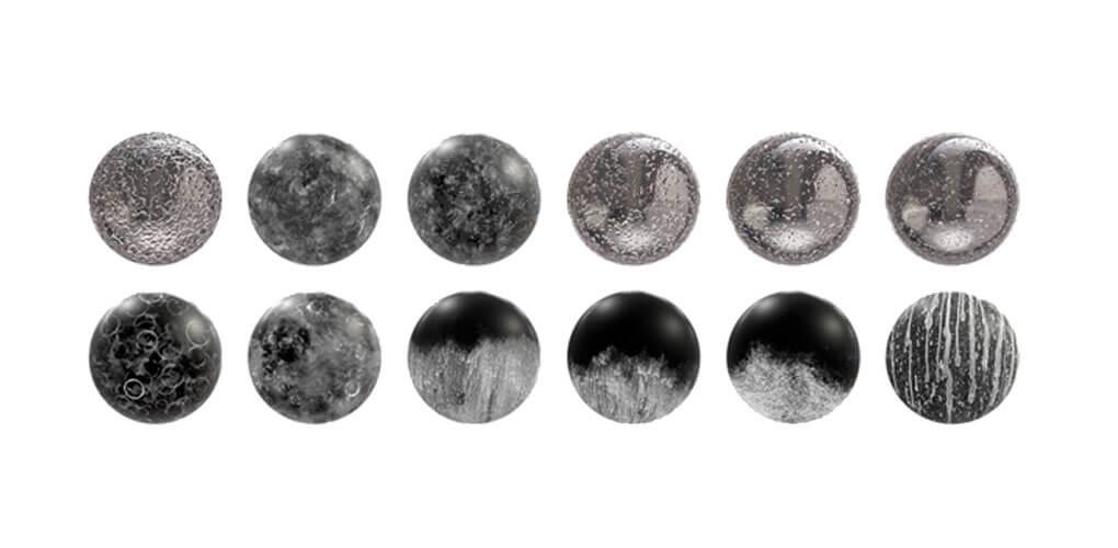 Niedoskonałości powierzchni w SOLIDWORKS Visualize