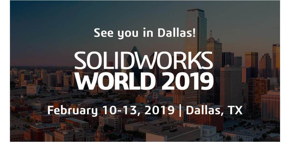 SOLIDWORKS World 2019 10-13 lutego Dallas