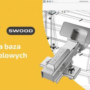 Biblioteka okuć meblowych firmy GTV dla programu SWOOD
