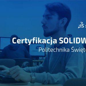 Certyfikacja SOLIDWORKS Politechnika Świętokrzyska - video case study