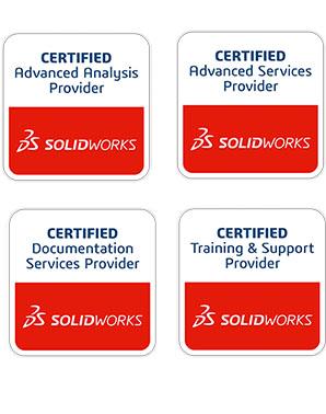 Certyfikaty powierdzające komepetencje DPS Software z zakresu świadczonych usług
