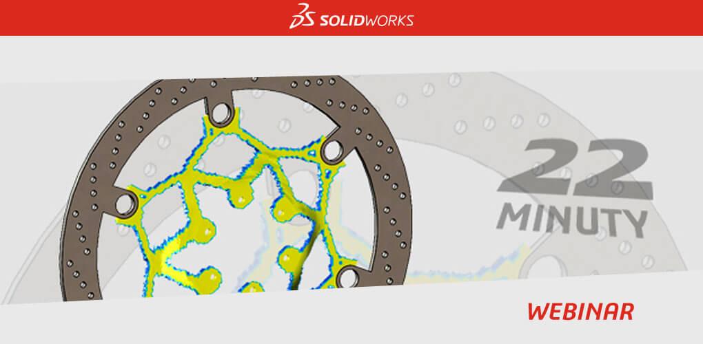 Webinar - Badanie optymalizacji topologii - SOLIDWORKS Simulation - Webinar