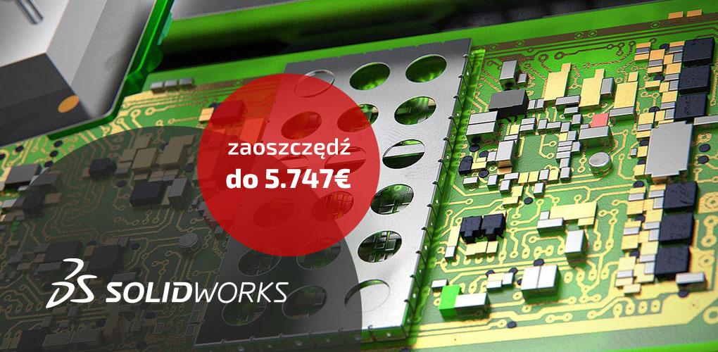 Mechatronika bez granic - Połączone i sprzężone - Promocja SOLIDWORKS
