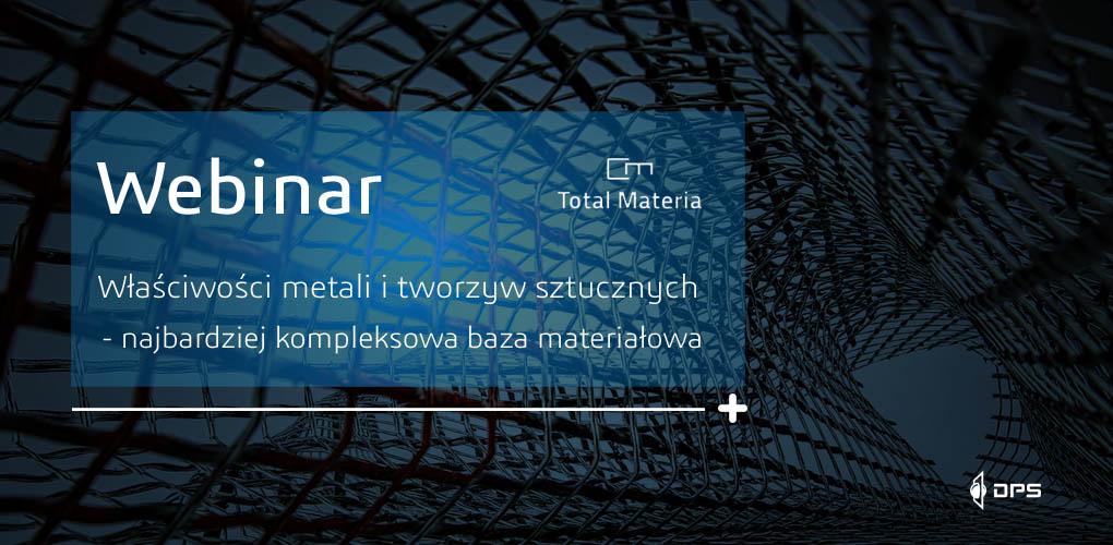 Baza materiałowa Total Materia - webinar