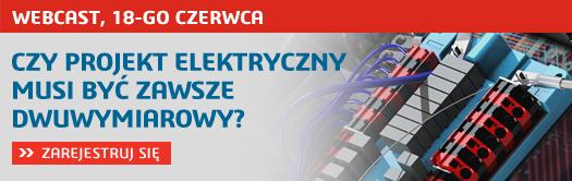 Projekt elektryczny w SOLIDWORKS Electrical - webinar rejestracja