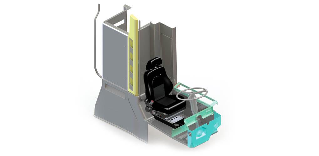 Projektowanie foteli w SOLIDWORKS 3D CAD
