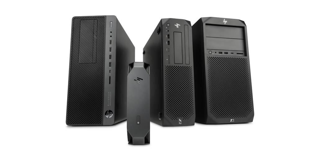 HP Z2 G4 mini tower elitedesk