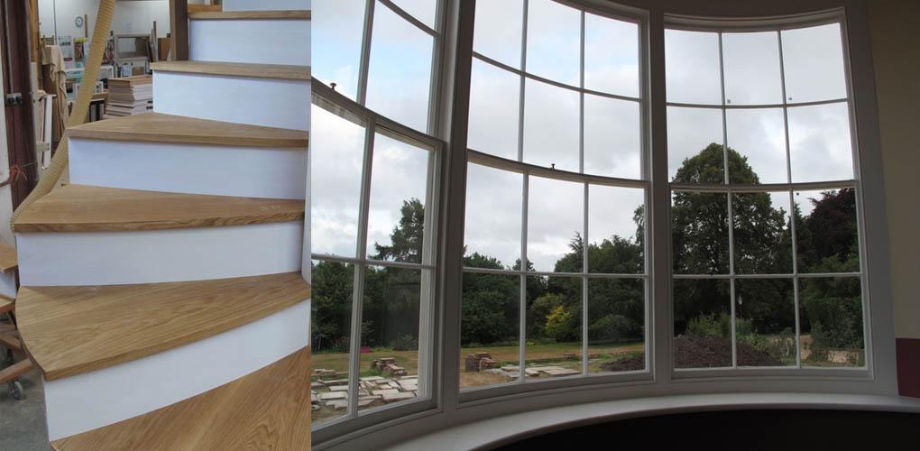 Stolarka okienna i schody w Alphacam Ultimate