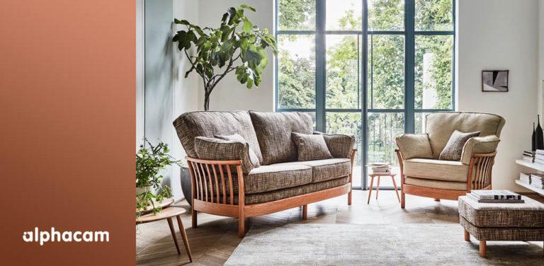 ercol furniture - alphacam case study