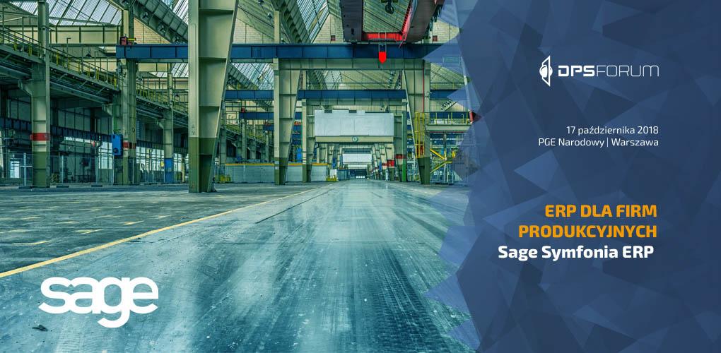 Sage Symfonia ERP dla przemysłu