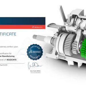 Program certyfikacji SOLIDWORKS - uzyskaj bezpłatny kod