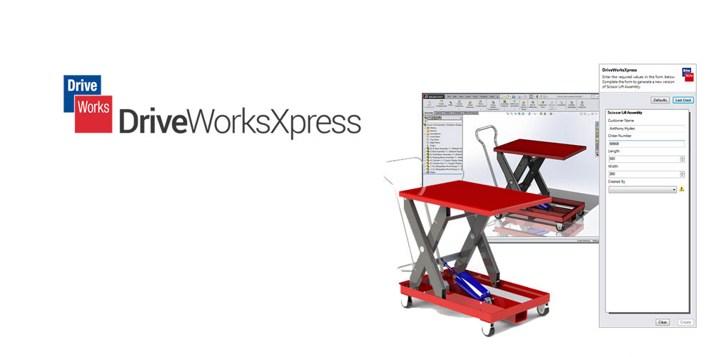 DriveWorks Xpress SOLIDWORKS