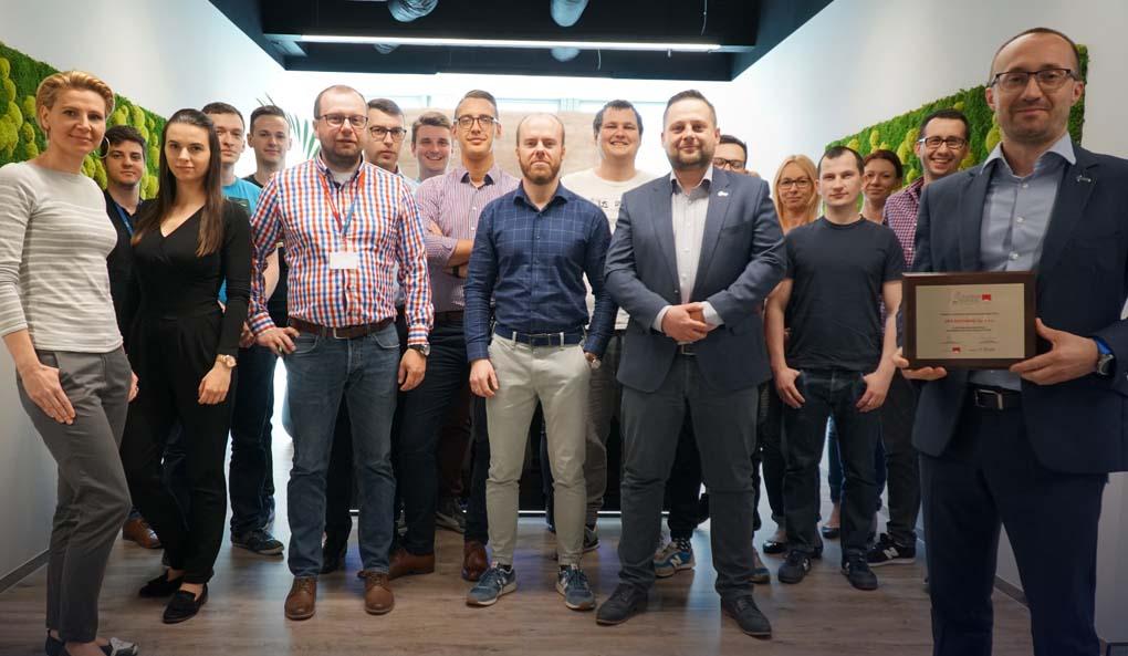 2018 Gazele Biznesu dla DPS Software