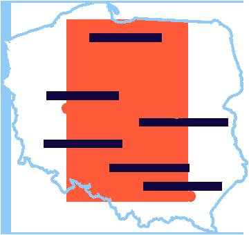Mapa miejscowości Roadshow Produkcyjne 2019