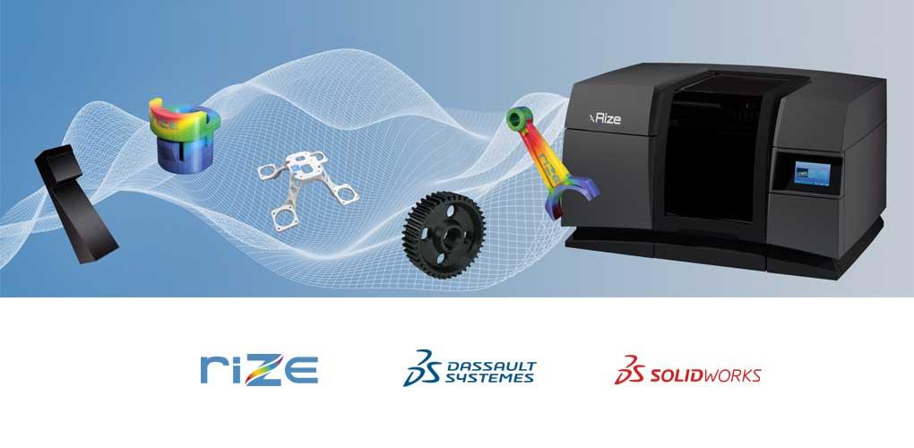 Drukarka 3D Rize - Solidworks Standard Promocja