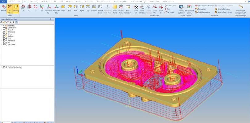 Alphacam oprogramowanie CAD CAM