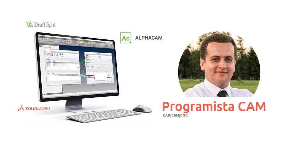 Programista CAM - Damian Lewczuk - Alphacam kurs szkolenie video tutorial | DPS Software