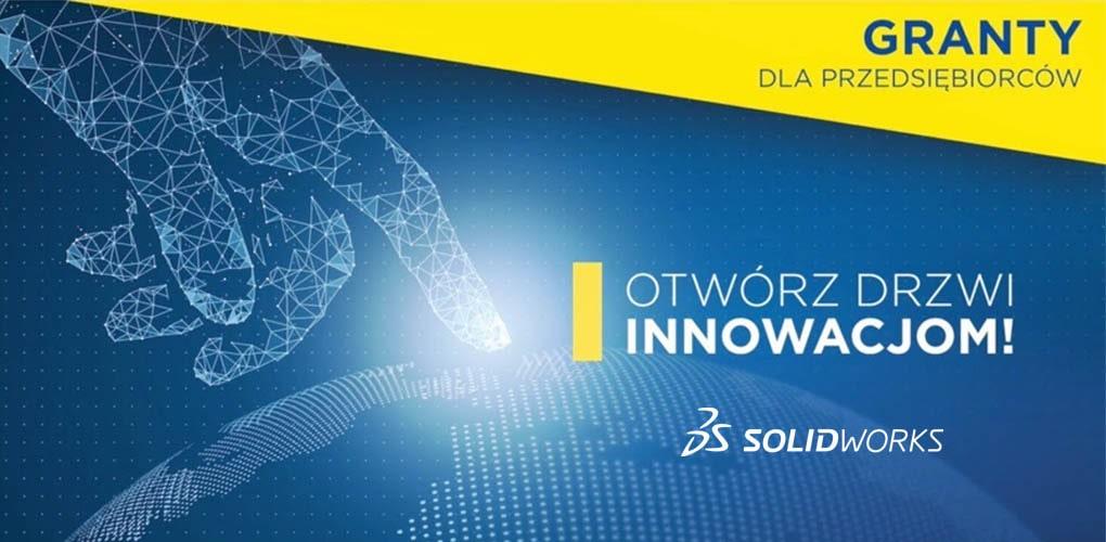 sieć otwartych innowacji - uzyskaj dofinansowanie grant na zakup SOLIDWORKS