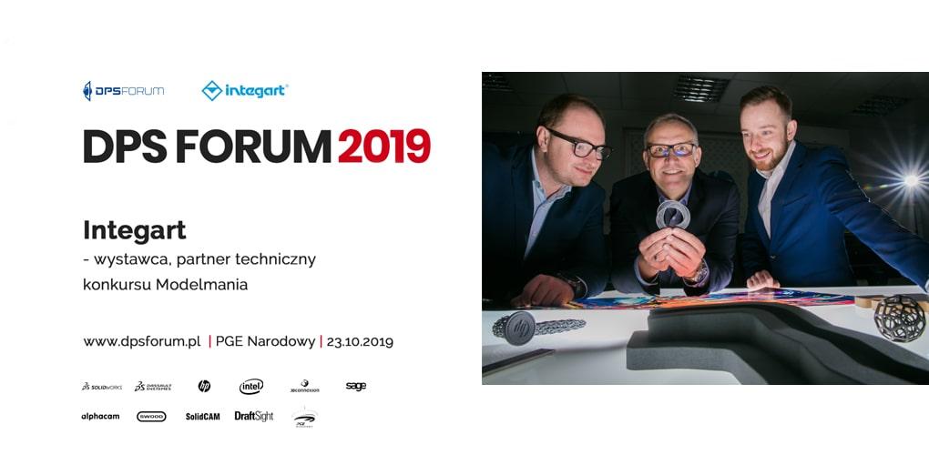 DPS FORUM 2019 - Integart - Partner Konkursu Modelmania - Wystawca - Prelegent