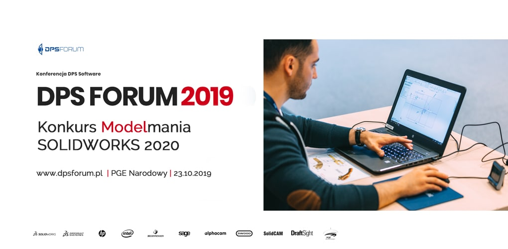 Konkurs Modelmania - SOLIDWORKS 2020 - DPS Forum 2019 - Integart