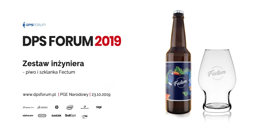 DPS FORUM 2019 - prezent dla uczestników od DPS Software - Browar Palatum - Fectum