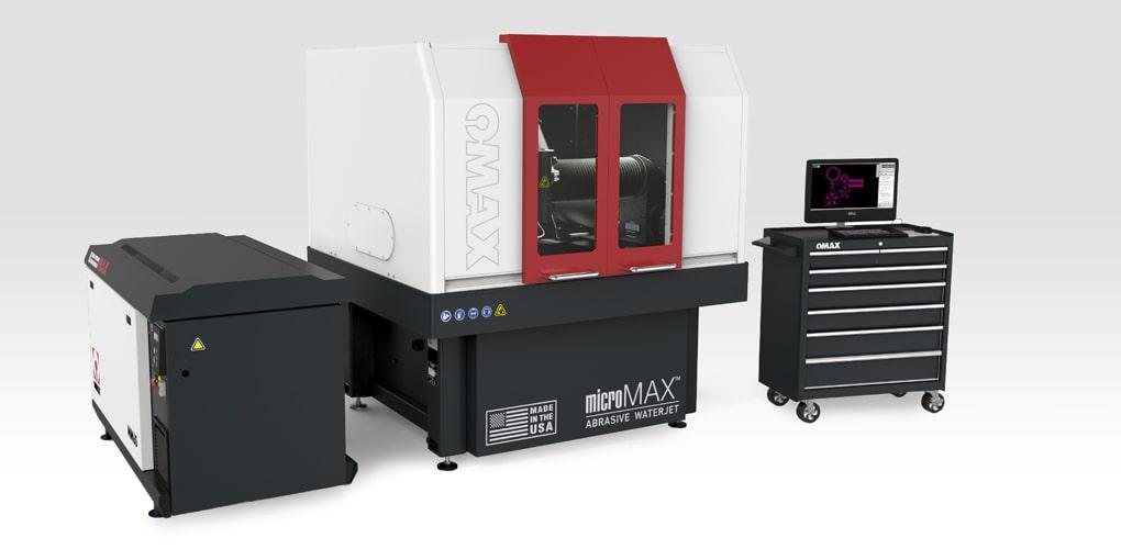 MIcroMax Ommax - waterjet machine - jetsystem