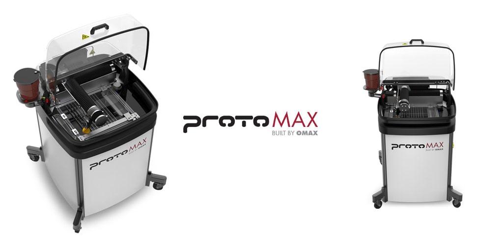 protoMax Omax - mini waterjet - JetSystem