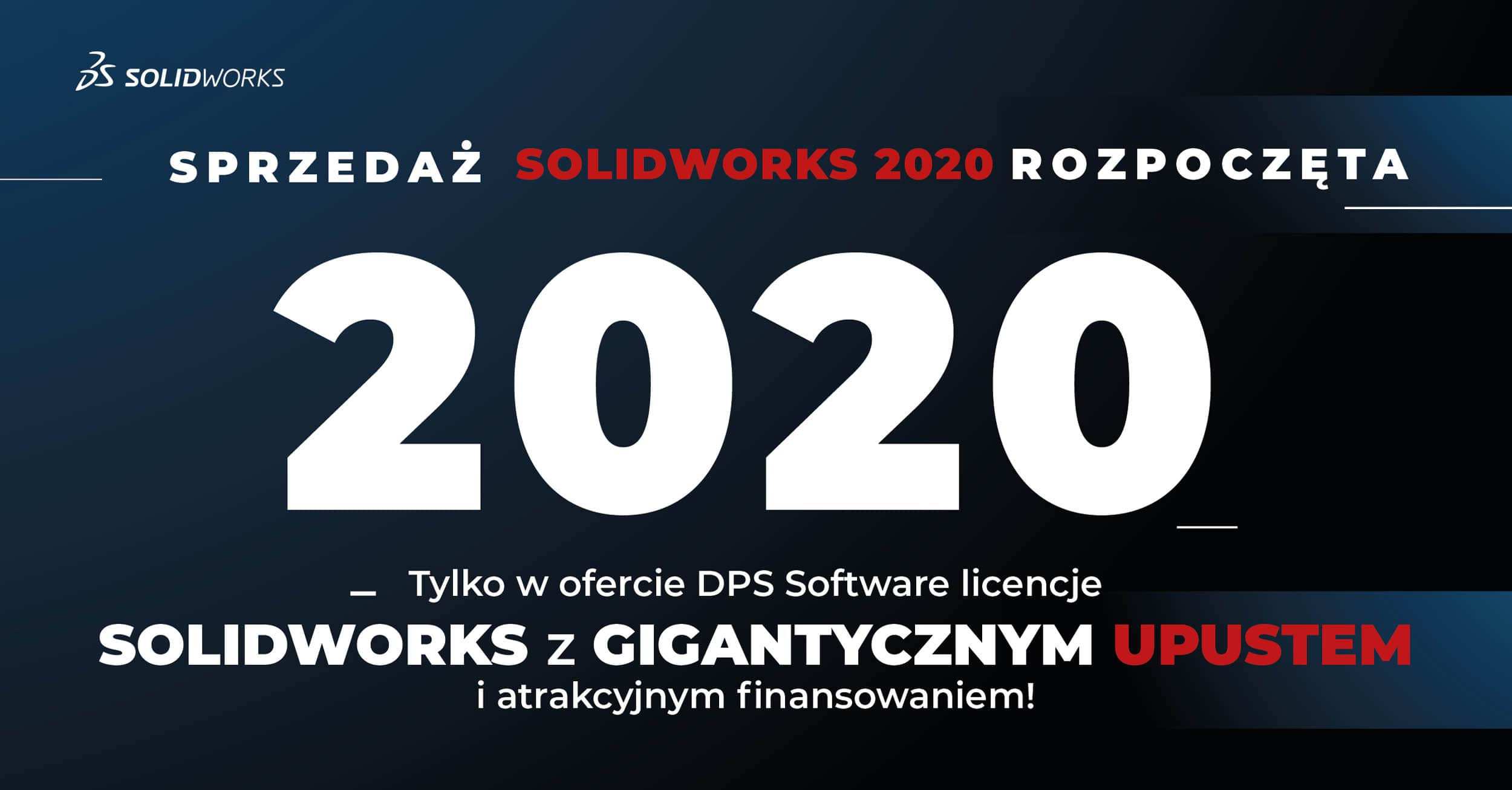 SOLIDWORKS 2020 Promocja
