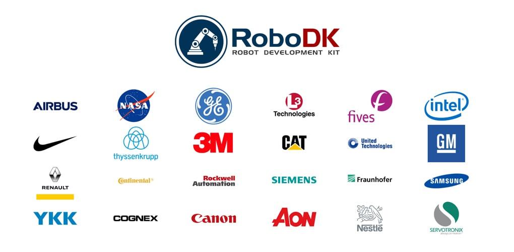 RoboDK referencje - klienci na świecie - customers