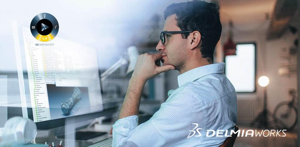 DelmiaWorks na SOLIDWORKS Platform - DPS Software