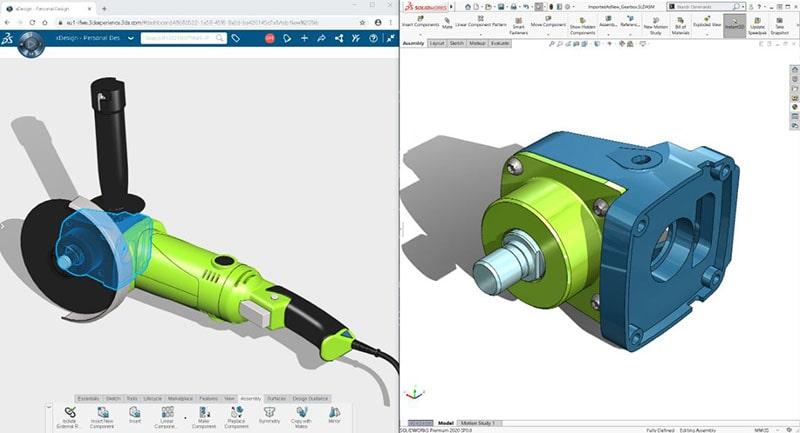 3D Creator (zawiera aplikację xDesign) i 3D Sculptor (zawiera aplikację xShape)