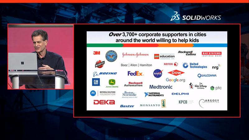 Dean Kamen z DEKA - 3DExperience World - SOLIDWORKS - DPS Software