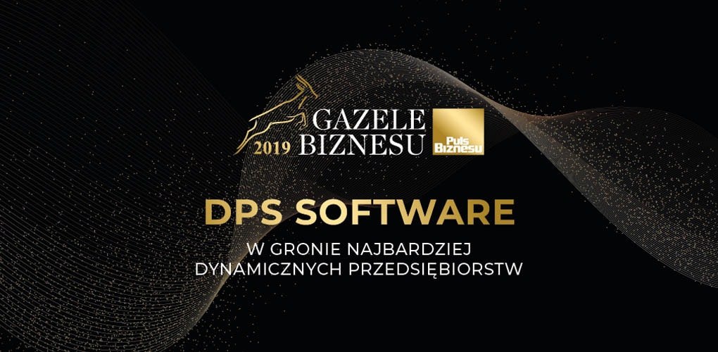 2019 Gazele Biznesu dla DPS Software - Puls Biznesu Plebiscyt