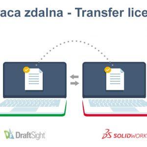 Transfer licencji SOLIDWORKS i DraftSight - praca zdana - wypożyczenie licencji - DPS Software