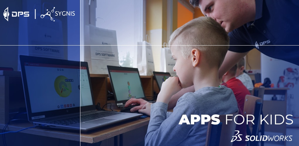 SOLIDWORKS Apps For Kids w szkole podstawowej - DPS Software - Sygnis