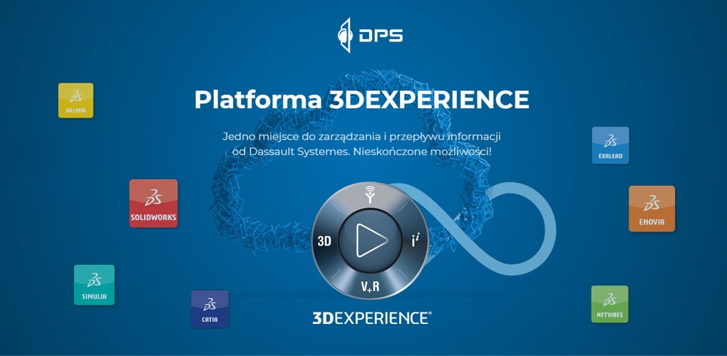 3DEXPERIENCE WORKS - Platforma 3DEXPERIENCE - DPS Software - SOLIDWORKS