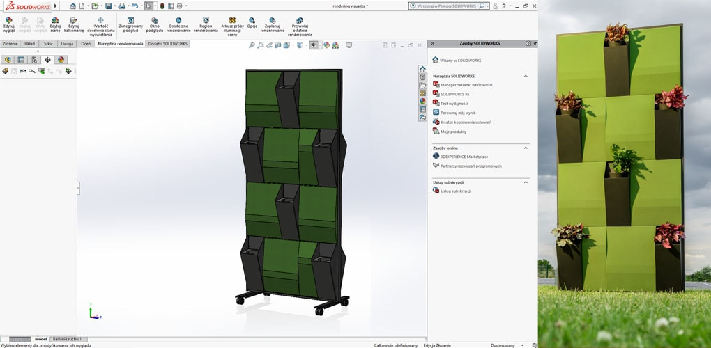 Budki i kabiny akustyczne Moonstera - SOLIDWORKS Case Study - DPS Software
