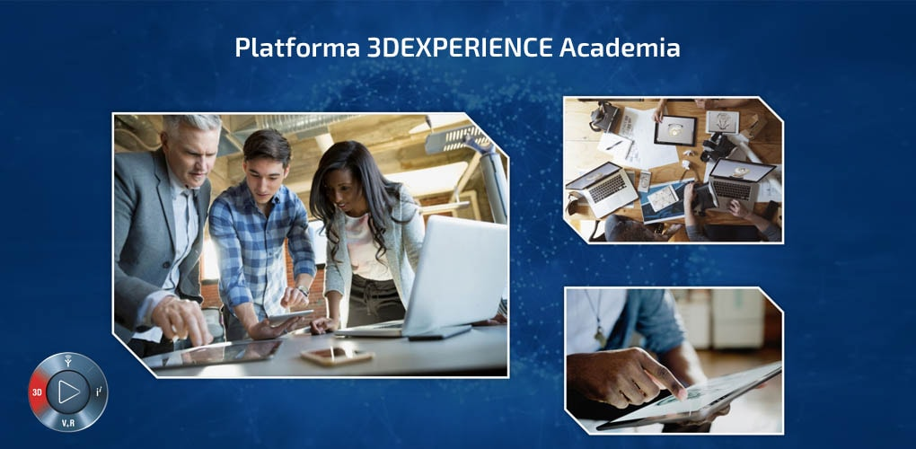 Platforma 3DEXPERIENCE Academia