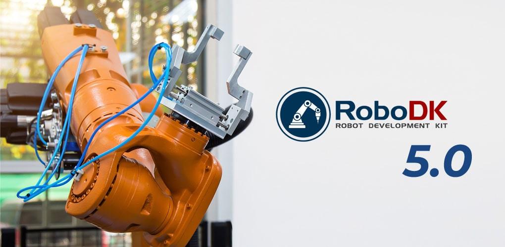 RoboDK 5.0 - programowanie robotów przemysłowych