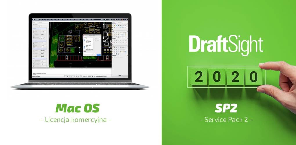 DraftSight 2020 Mac OS - Service Pack 2 - DraftSight DPS Software
