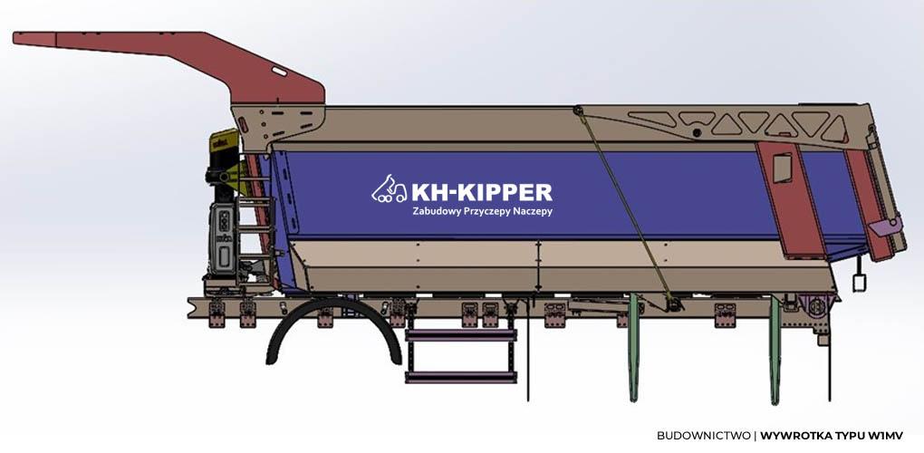 KH KIPPER - Budownictwo - Wywrotka Typu W1MV