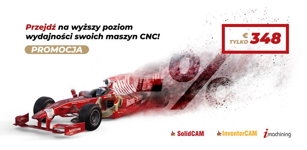 Promocja iMachining SOLIDCAM InventorCAM - dps software