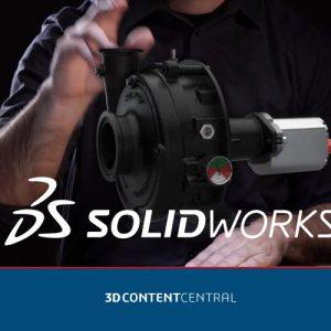 SOLIDWORKS 3D ContentCenter - biblioteka cad 3d modeli