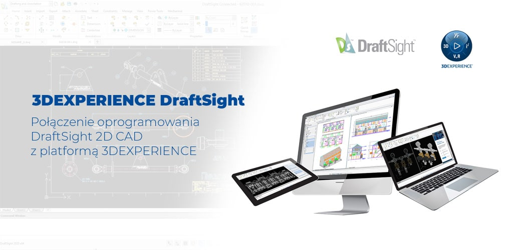 3DEXPERIENCE DraftSigght - oprogramowanie CAD 2D 3D - DPS Software